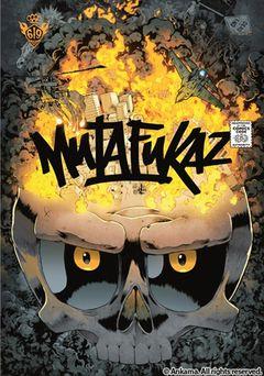 Couverture DE4D END - Mutafukaz, tome 4