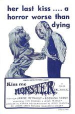 Affiche Kiss me monster