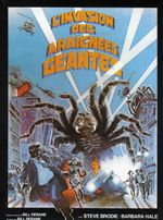 Affiche L'Invasion des Araignées Géantes