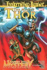 Couverture The Mighty Thor/Journey Into Mystery: Everything Burns