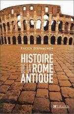 Couverture Histoire de la Rome antique