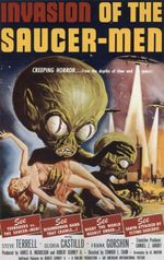 Affiche Invasion of the Saucer-Men