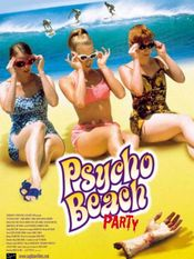 Affiche Psycho Beach Party