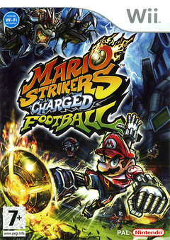 Jaquette Mario Strikers Charged Football