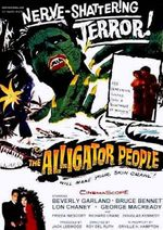 Affiche The alligator people