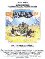 Affiche La Victoire en chantant