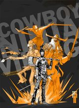 Couverture Cowboy Ninja Viking, tome 1