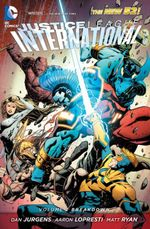 Couverture Breakdown - Justice League International, tome 2
