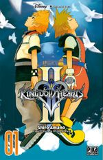 Couverture Kingdom Hearts II