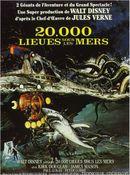 Affiche 20.000 lieues sous les mers