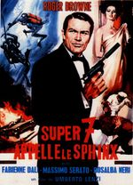 Affiche Super 7 appelle le Sphinx