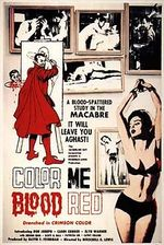 Affiche Color Me Blood Red