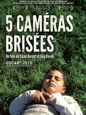 Affiche 5 Caméras Brisées