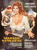 Affiche Madame Sans-Gêne