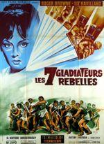 Affiche Les sept gladiateurs rebelles