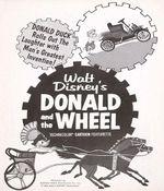 Affiche Donald et la roue