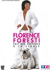 Affiche Florence Foresti fait des sketches à la Cigale