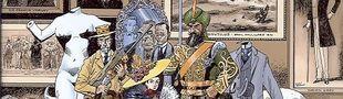 Illustration Héros d'un monde steampunk