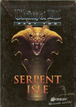 Jaquette Ultima VII : Serpent Isle