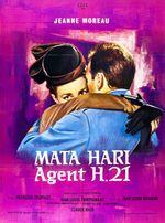Affiche Mata-hari, agent H.21