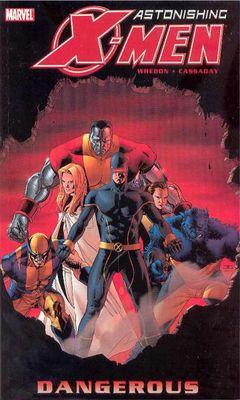 Couverture Astonishing X-Men: Dangerous