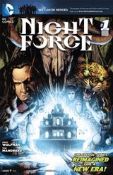 Couverture Night Force (New 52)