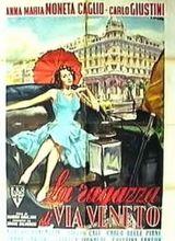 Affiche La fille de la rue Veneto