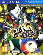 Jaquette Persona 4 : The Golden