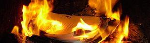 Cover Si vous deviez brûler trois livres, lesquels seraient-ils? [liste participative bien entendu]