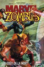 Couverture Le goût de la mort - Marvel Zombies (Marvel Deluxe), tome 2