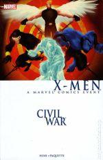 Couverture Civil War: X-Men