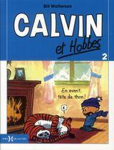 Couverture En avant, tête de thon ! - Calvin et Hobbes, tome 2