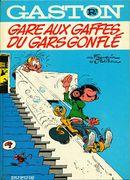 Couverture Gare aux gaffes du gars gonflé - Gaston (première série), tome R3
