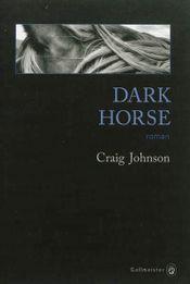 Couverture Dark Horse