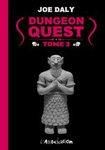 Couverture Dungeon Quest, tome 3