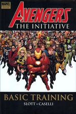 Couverture Avengers: The Initiative: Basic Training