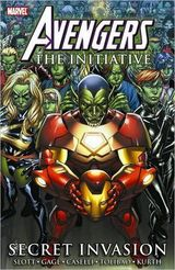 Couverture Avengers: The Initiative: Secret Invasion