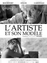 Affiche L'artiste et son modèle