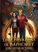 Jaquette Les Chevaliers de Baphomet : La Malédiction du Serpent - Épisode 1