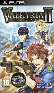 Jaquette Valkyria Chronicles II