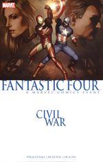 Couverture Civil War: Fantastic Four