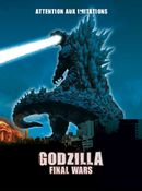 Affiche Godzilla Final Wars