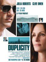 Affiche Duplicity