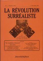 Couverture La révolution surréaliste