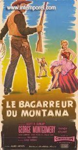 Affiche Le Bagarreur du Montana