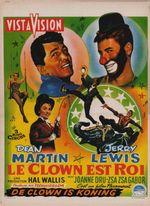 Affiche Le clown est roi