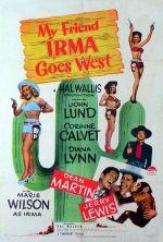 Affiche My Friend Irma Goes West