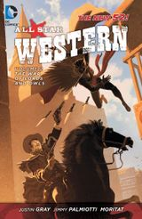 Couverture The War of Lords and Owls - All Star Western, tome 2