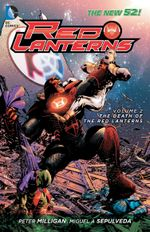 Couverture The Death of the Red Lanterns - Red Lanterns, tome 2