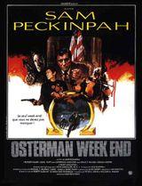 Affiche Osterman Week-end